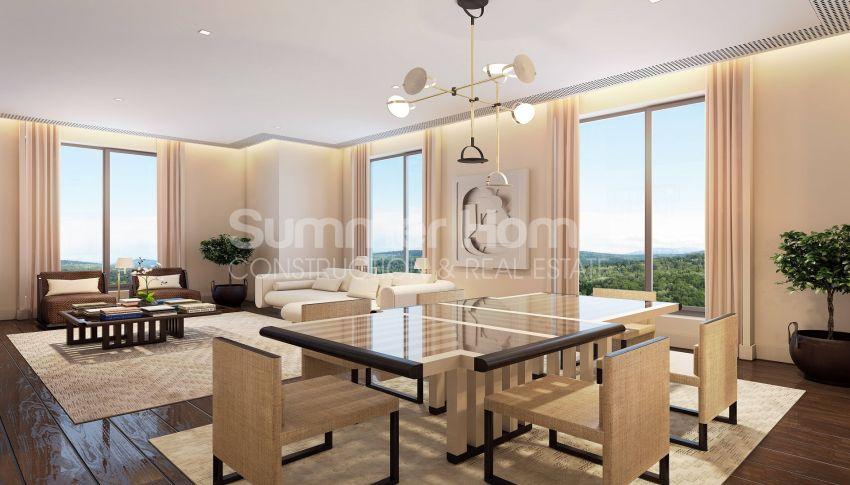 伊斯坦布尔市中心的设计豪华的城市美景公寓 interior - 13