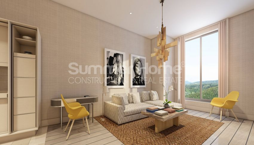 伊斯坦布尔市中心的设计豪华的城市美景公寓 interior - 15