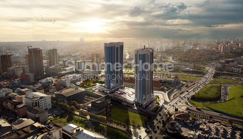 伊斯坦布尔的高速发展地区——Basin Express地区的高档豪华公寓 general - 1