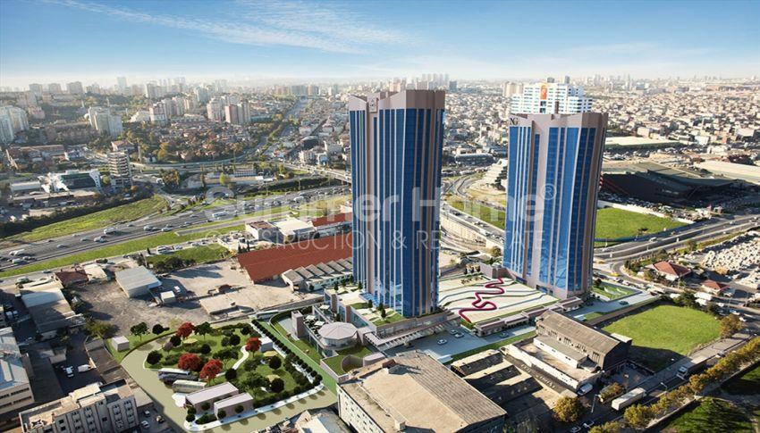 伊斯坦布尔的高速发展地区——Basin Express地区的高档豪华公寓 general - 2