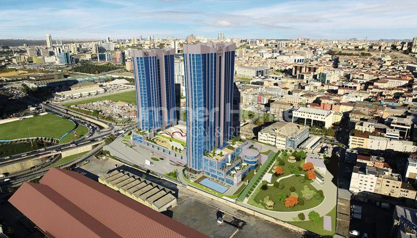 伊斯坦布尔的高速发展地区——Basin Express地区的高档豪华公寓 general - 3
