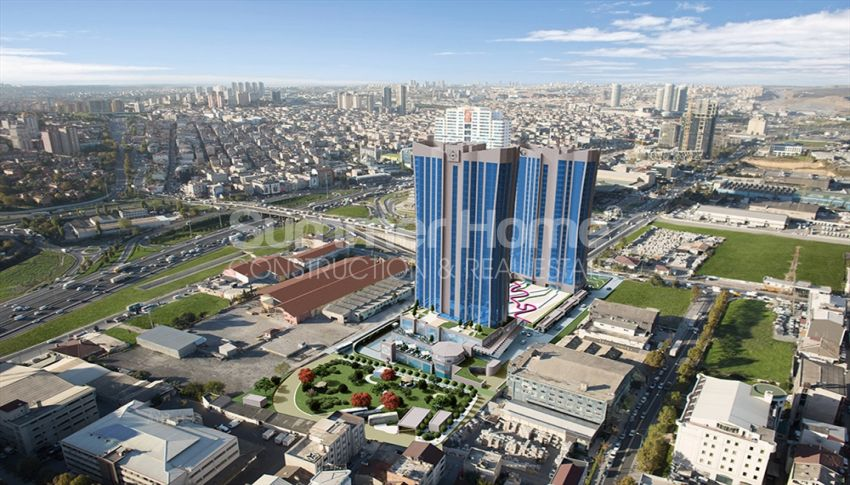 伊斯坦布尔的高速发展地区——Basin Express地区的高档豪华公寓 general - 4