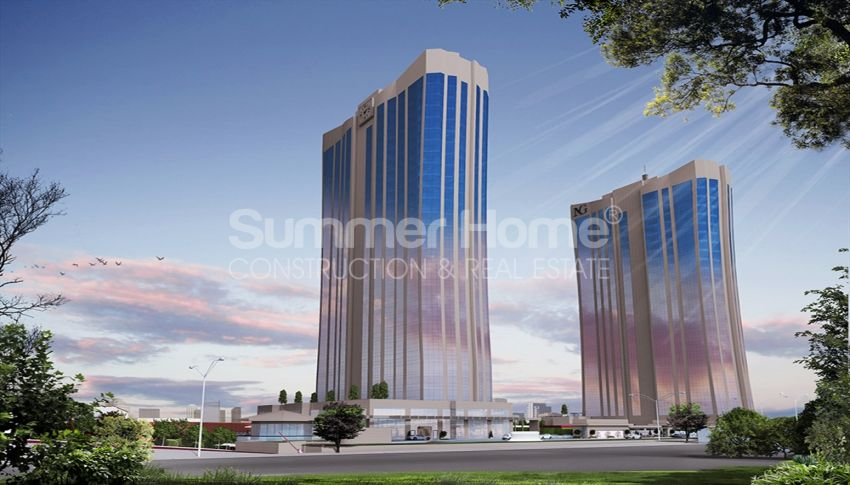 伊斯坦布尔的高速发展地区——Basin Express地区的高档豪华公寓 general - 6