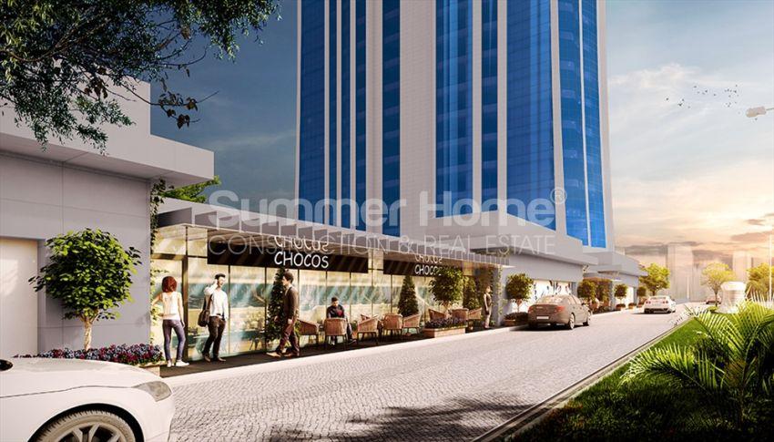 伊斯坦布尔的高速发展地区——Basin Express地区的高档豪华公寓 general - 8