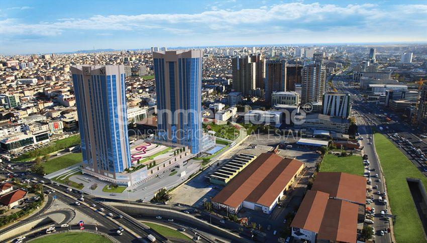 伊斯坦布尔的高速发展地区——Basin Express地区的高档豪华公寓 general - 9