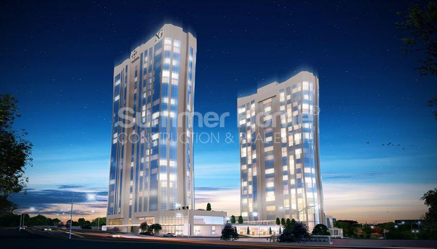 伊斯坦布尔的高速发展地区——Basin Express地区的高档豪华公寓 general - 10