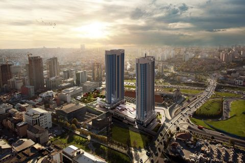 High Quality Apartments with Luxury Design in Fast Growing Area in Istanbul, Basin Express