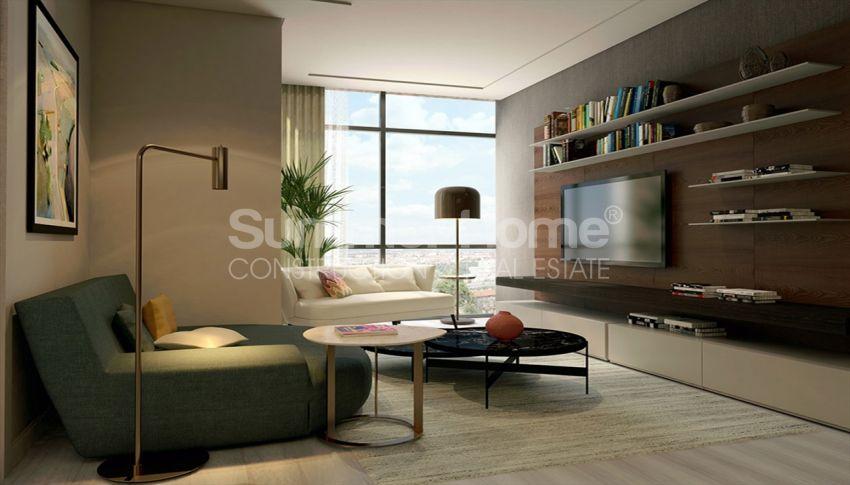 伊斯坦布尔的高速发展地区——Basin Express地区的高档豪华公寓 interior - 12