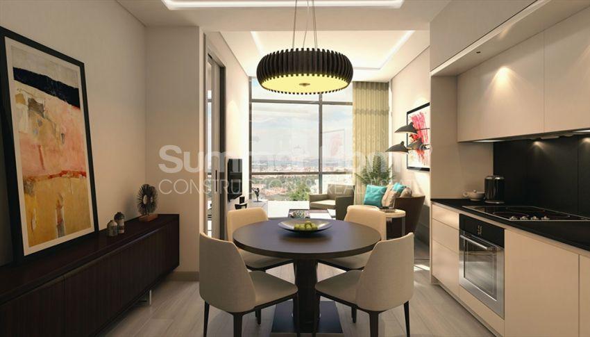 伊斯坦布尔的高速发展地区——Basin Express地区的高档豪华公寓 interior - 17