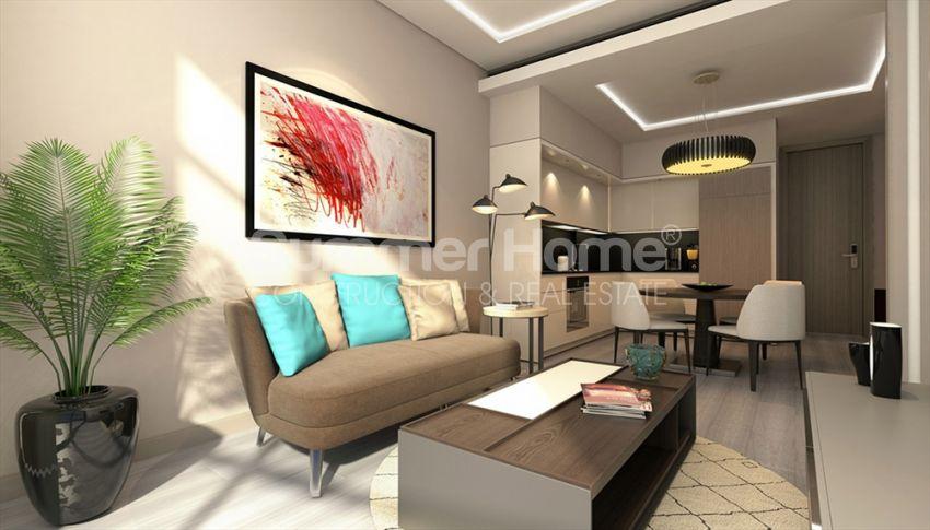 伊斯坦布尔的高速发展地区——Basin Express地区的高档豪华公寓 interior - 19