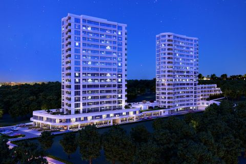 Affordable Priced Apartments with City View in Basaksehir, Istanbul