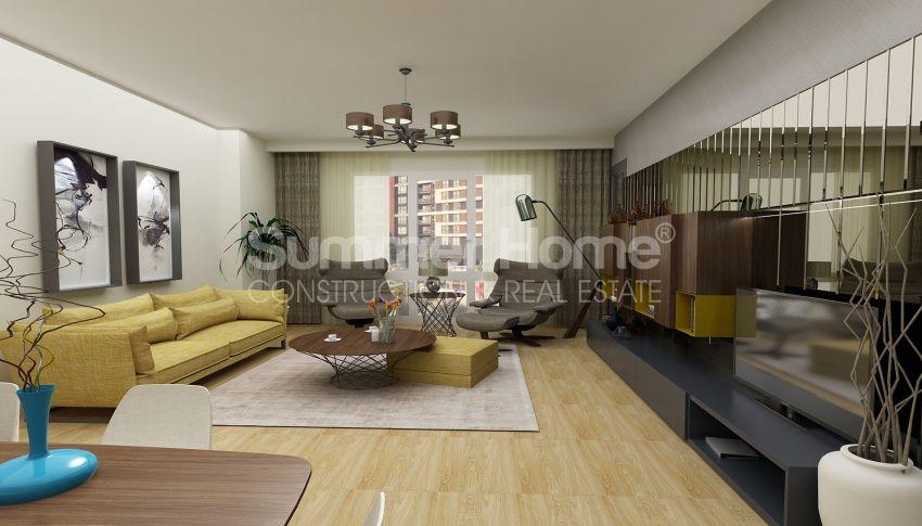 آپارتمان دوست داشتنی در نزدیکی همه امکانات در منطقه جذاب استانبول interior - 13