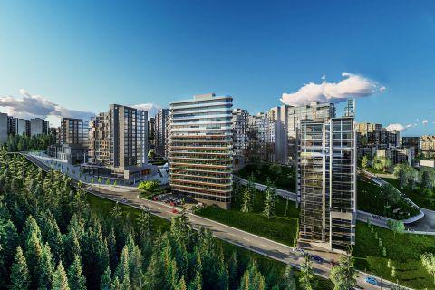 Apartmani visoke klase u blizini svih pogodnosti u centru Istanbula