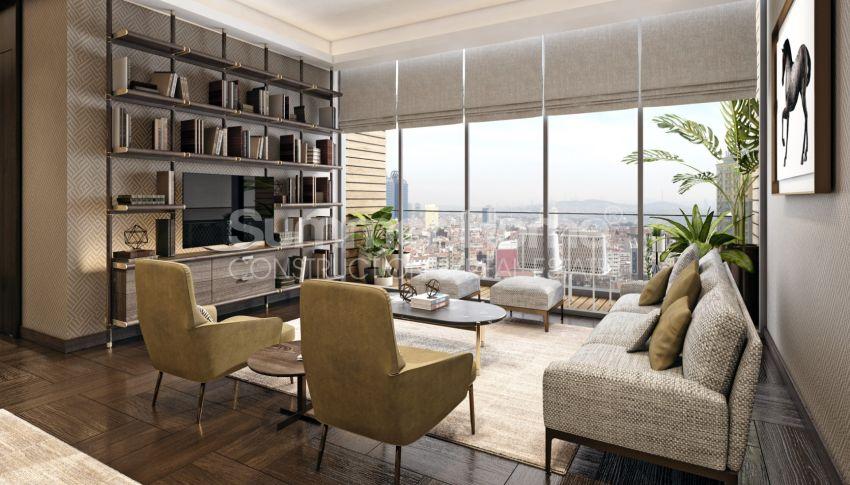 Nouveau projet de construction adapté à la vie à Sisli, Istanbul interior - 9