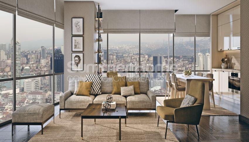 Nouveau projet de construction adapté à la vie à Sisli, Istanbul interior - 11