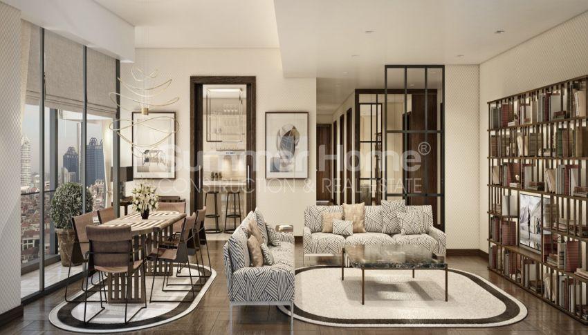 Nouveau projet de construction adapté à la vie à Sisli, Istanbul interior - 14