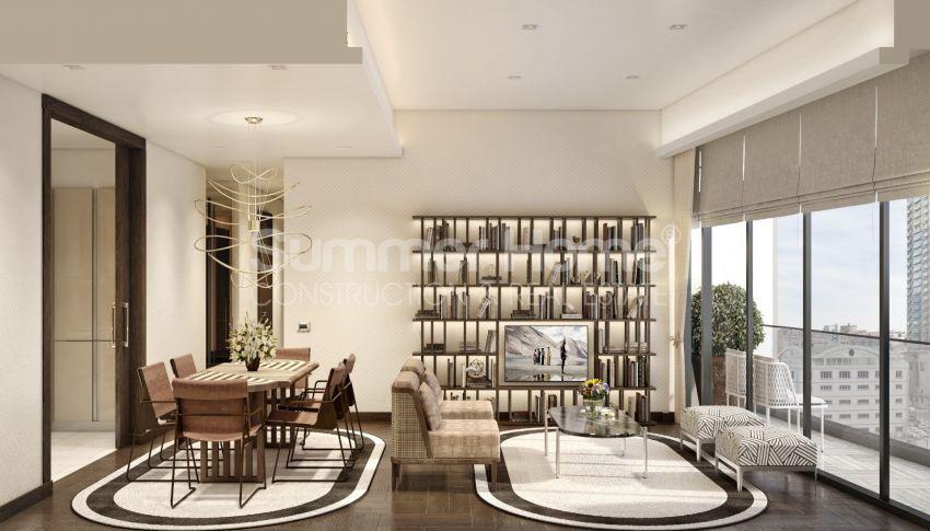 Nouveau projet de construction adapté à la vie à Sisli, Istanbul interior - 15