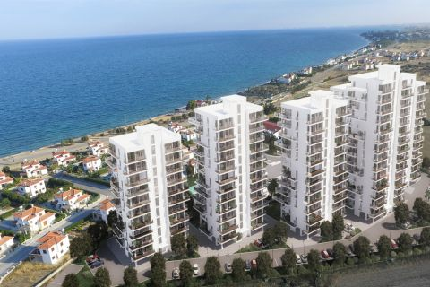 Classy Sea View Apartments Close to Beach in Northern Cyprus