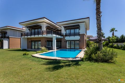 4+1 Villa with Private Pool in Quiet and Green Area of Belek,Antalya