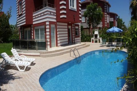 Fully-Furnished Villa with Swimming Pool in Belek,Antalya