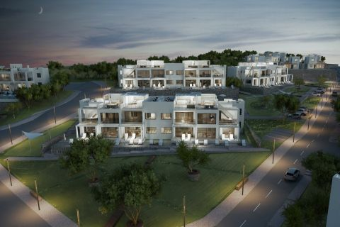 Elegant Apartments with Infinity Pool at Beachfront Location of Esentepe,North Cyprus