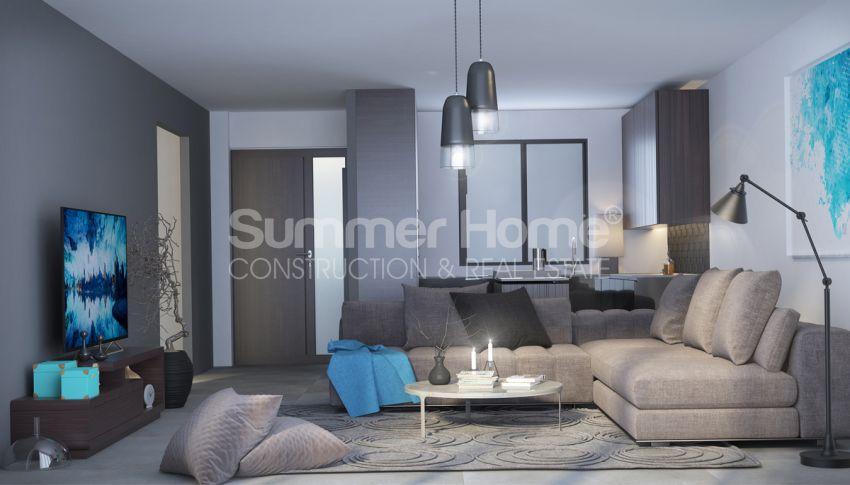 آپارتمان های زیبا با استخر بی نهایت در محل ساحلی اسنتپه، قبرس شمالی interior - 8