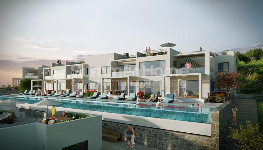 آپارتمان های لوکس با استخر بی نهایت در موقعیت هیل در اسنتپه، قبرس شمالی general - 2