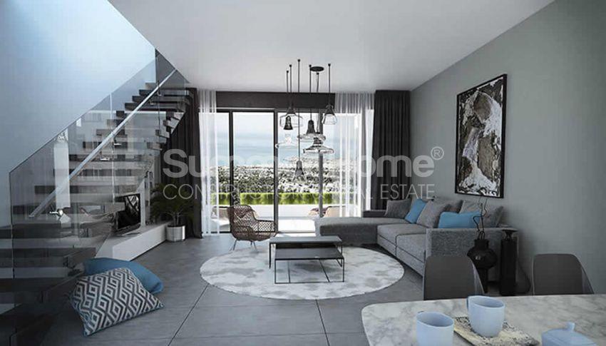 آپارتمان های لوکس با استخر بی نهایت در موقعیت هیل در اسنتپه، قبرس شمالی interior - 6