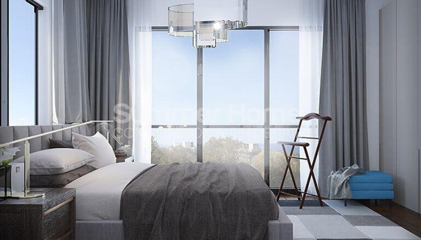 آپارتمان های لوکس با استخر بی نهایت در موقعیت هیل در اسنتپه، قبرس شمالی interior - 7
