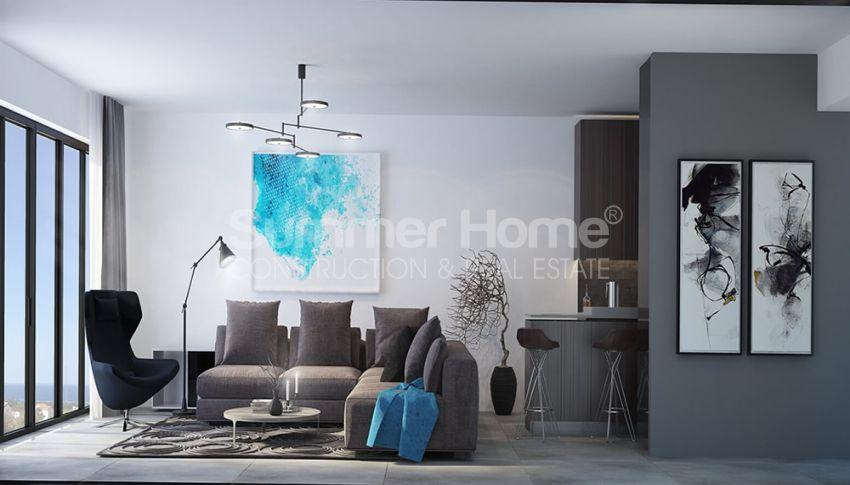 آپارتمان های لوکس با استخر بی نهایت در موقعیت هیل در اسنتپه، قبرس شمالی interior - 9