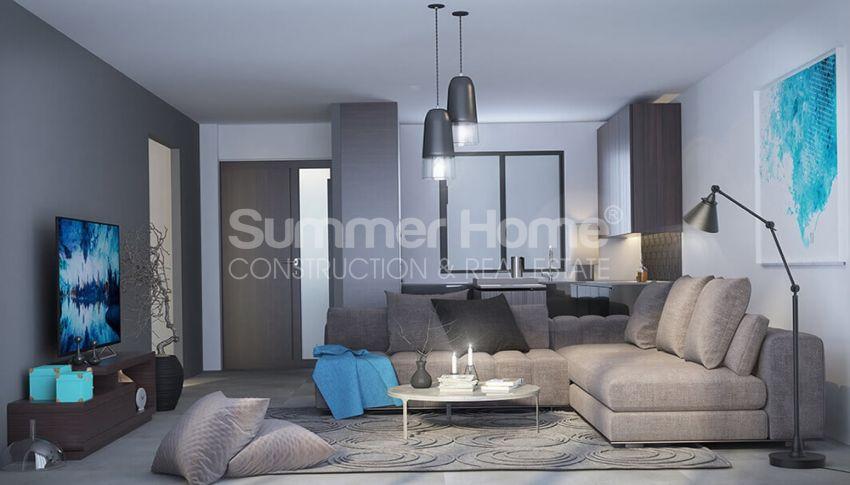آپارتمان های لوکس با استخر بی نهایت در موقعیت هیل در اسنتپه، قبرس شمالی interior - 10