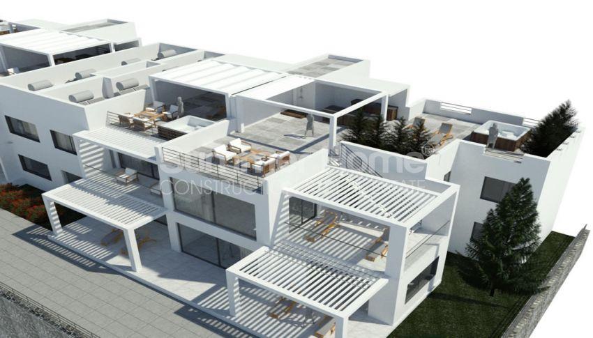 آپارتمان های لوکس با استخر بی نهایت در موقعیت هیل در اسنتپه، قبرس شمالی plan - 1