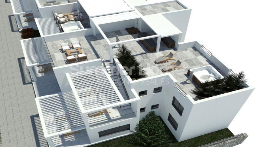 آپارتمان های لوکس با استخر بی نهایت در موقعیت هیل در اسنتپه، قبرس شمالی plan - 2