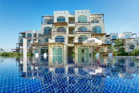 High-Class Apartments in Picturesque Surroundings in North Cyprus