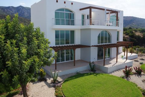 Seafront Penthouses with Furnitures in Exclusive Complex in Cyprus