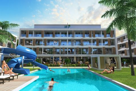 Brand New Apartments in High-Class Complex Next to the Beach of Otukan,Cyprus