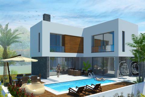 Wunderschöne Luxusvilla direkt am Meer in Kyrenia, Nordzypern