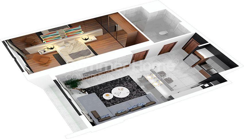 آپارتمان های مقرون به صرفه مدرن در نزدیکی مرکز خرید در فاماگوستا، قبرس plan - 1