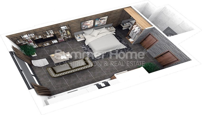 آپارتمان های مقرون به صرفه مدرن در نزدیکی مرکز خرید در فاماگوستا، قبرس plan - 4