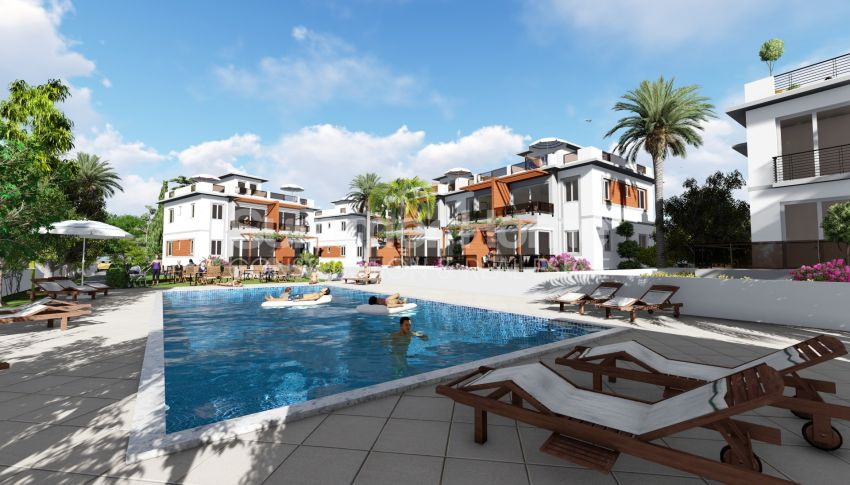Appartements abordables en bord de mer dans le complexe Cozy à Kyrenia, Chypre general - 7