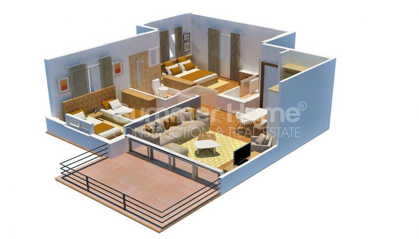 Appartements abordables en bord de mer dans le complexe Cozy à Kyrenia, Chypre plan - 3