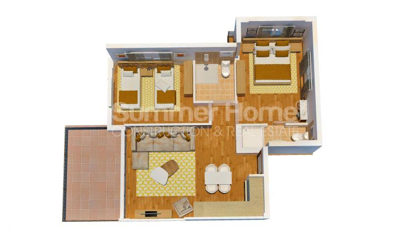 Appartements abordables en bord de mer dans le complexe Cozy à Kyrenia, Chypre plan - 4