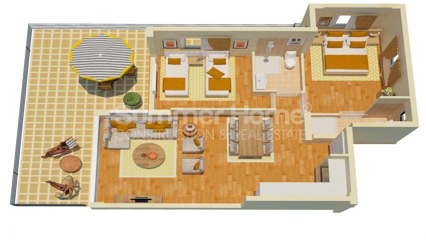 Appartements abordables en bord de mer dans le complexe Cozy à Kyrenia, Chypre plan - 6