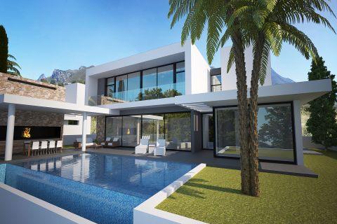 Luxusvilla am Meer mit herrlichem Panoramablick auf Zypern