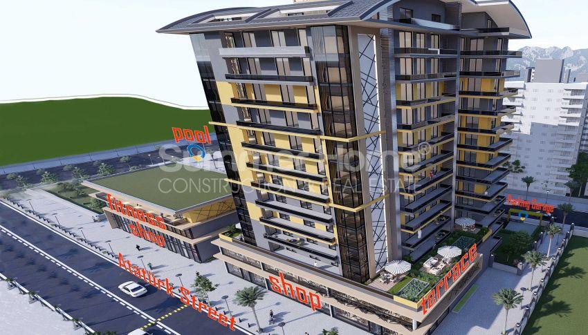 Appartements neufs avec vue sur la mer dans le quartier populaire d'Alanya, Mahmutlar general - 1