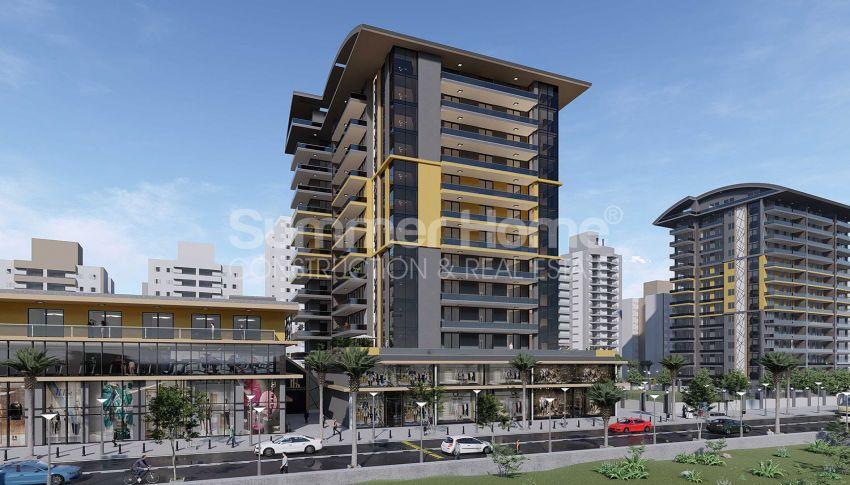 Appartements neufs avec vue sur la mer dans le quartier populaire d'Alanya, Mahmutlar general - 2