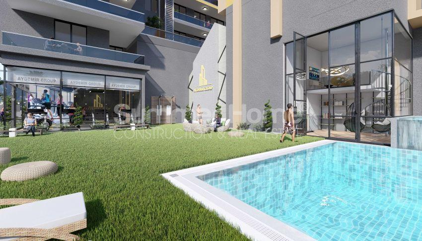 Appartements neufs avec vue sur la mer dans le quartier populaire d'Alanya, Mahmutlar general - 3