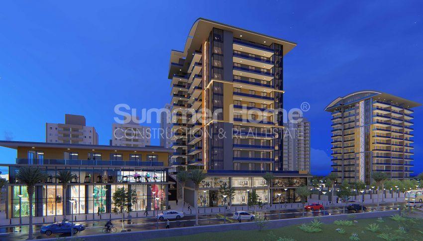 Appartements neufs avec vue sur la mer dans le quartier populaire d'Alanya, Mahmutlar general - 5