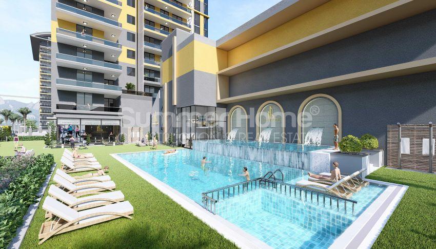 Appartements neufs avec vue sur la mer dans le quartier populaire d'Alanya, Mahmutlar general - 6