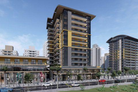 New Built Seaview Apartments in the Popular District of Alanya, Mahmutlar
